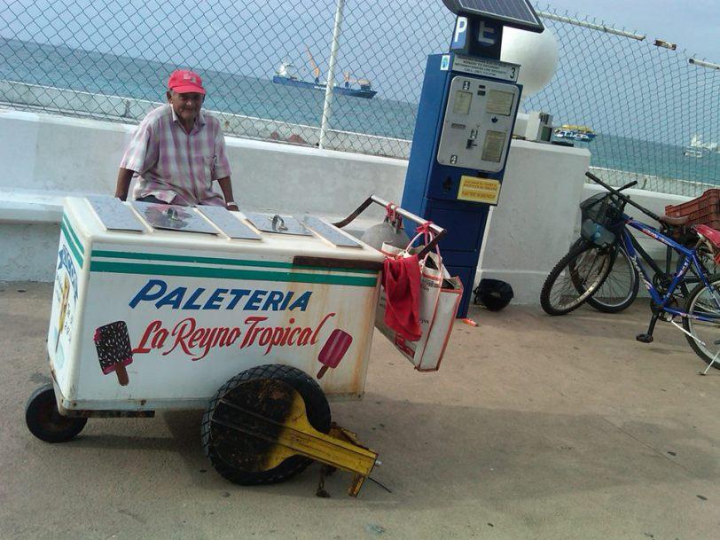Ice cream vendor gets the boot