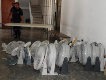 confiscated fans