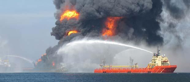 Deep Water Horizon Fire