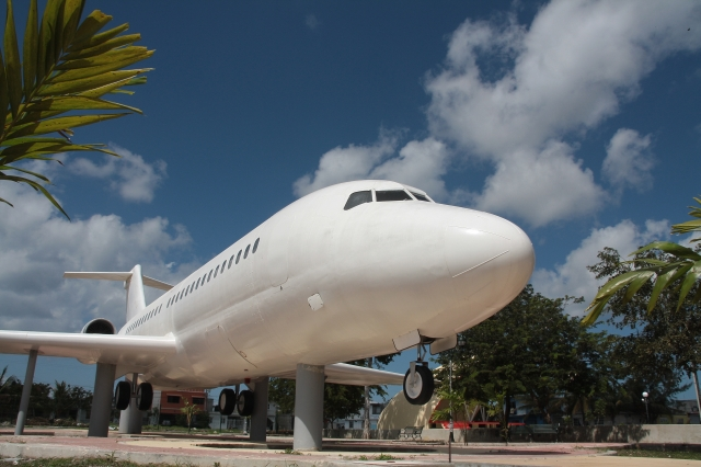 Cozumel airplane theme park
