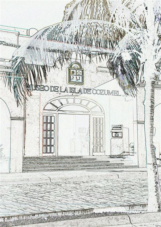 artist rendering of Cozumel Museum