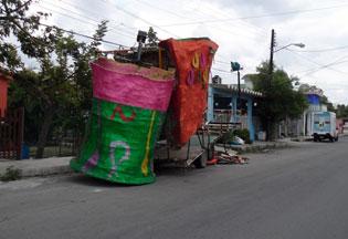 Cozumel: Old parade float
