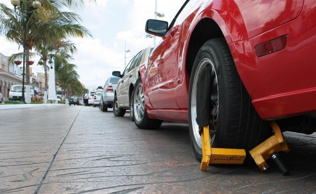 Cozumel Parking Boot