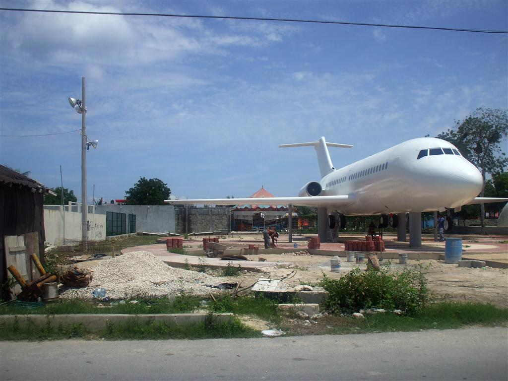 Cozumel Airplane Park finally flies