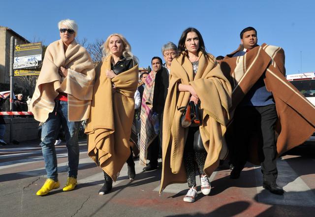 Unhappy survivors of the Costa Concordia sinking